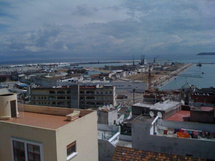 Hafen von Tanger Innenstadt