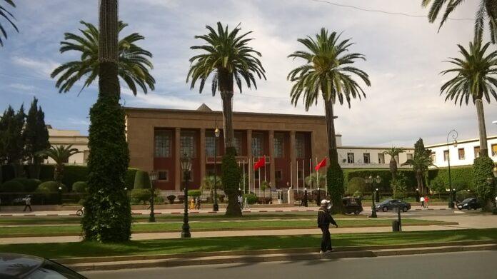 Zeitungen: Parlament von Marokko in Rabat