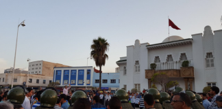 Demonstrationen in Nador