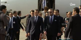 Französisches Präsidentenpaar