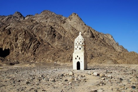 Marokko trocknet aus