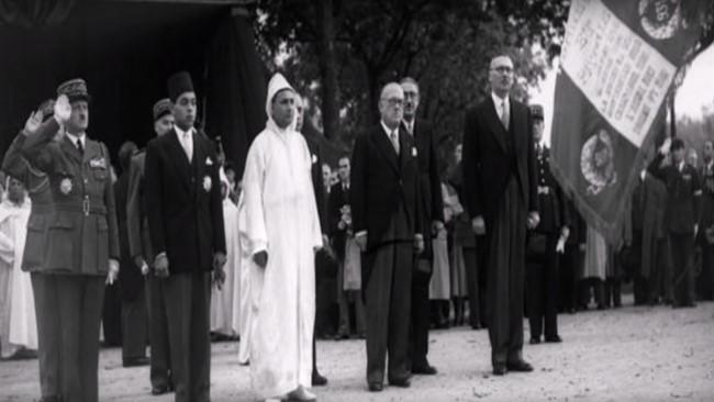 König Moahmed V.