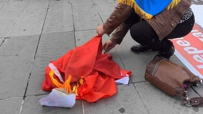 Flaggenverbrennung